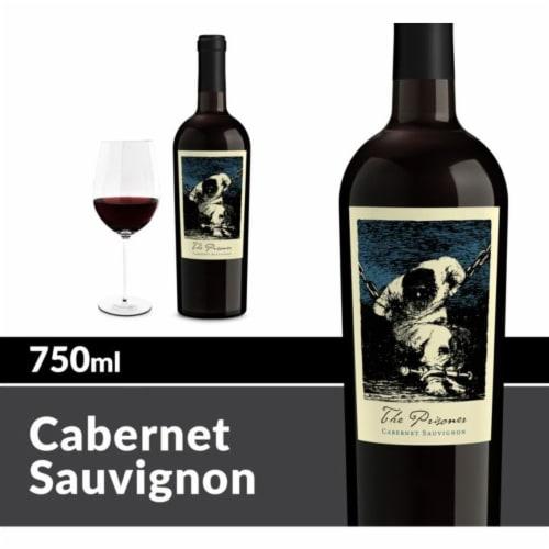 The Prisoner Wine Co. Cabernet Sauvignon Red Wine Perspective: front