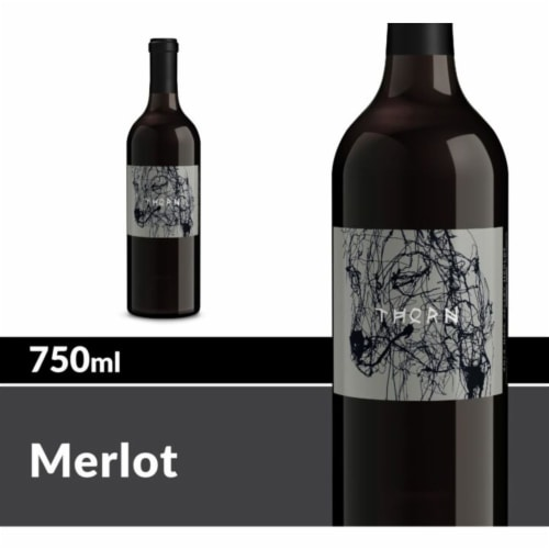 Thorn Napa Valley Merlot Red Wine Perspective: front