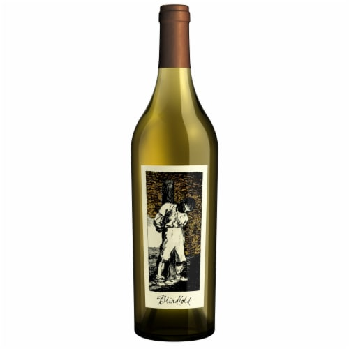 The Prisoner Wine Co. Blindfold California White Wine Perspective: front