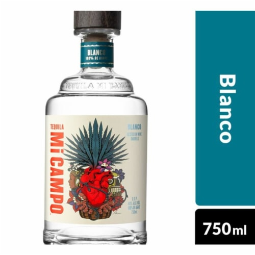 Mi Campo Blanco Tequila Perspective: front