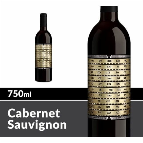 The Prisoner Wine Company Unshackled Cabernet Sauvignon Red Wine Perspective: front
