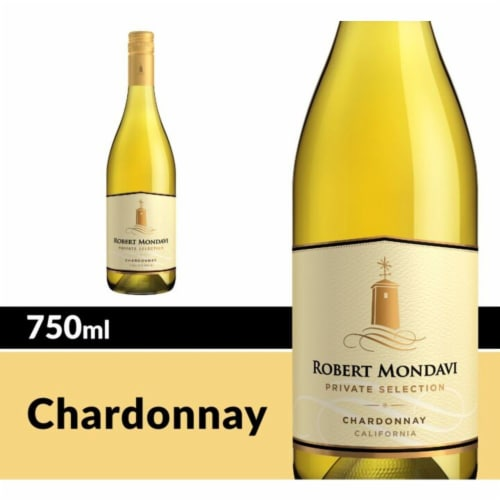 Robert Mondavi Private Selection Chardonnay White Wine Perspective: front