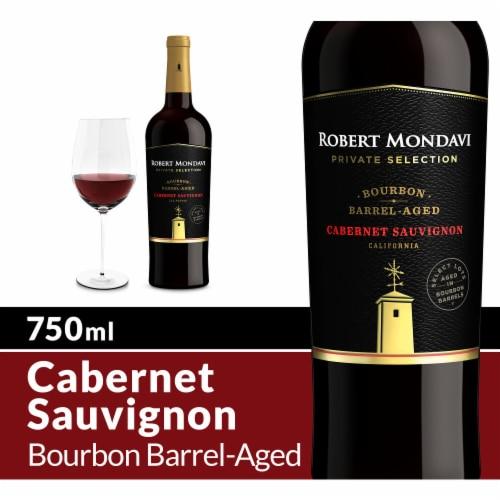 Robert Mondavi Private Selection Bourbon Barrel Aged Cabernet Sauvignon Red Wine Perspective: front