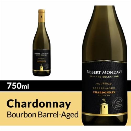 Robert Mondavi Private Selection Bourbon Barrel Aged Chardonnay White Wine Perspective: front