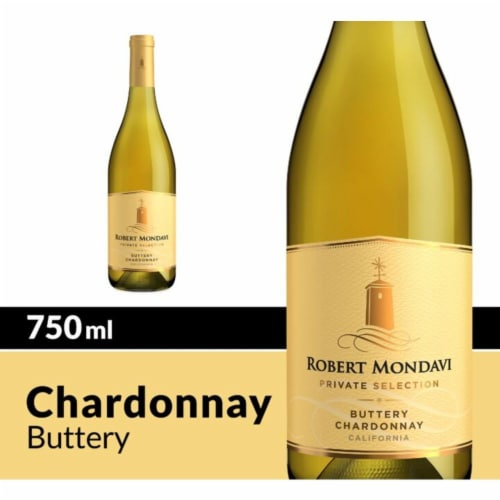 Robert Mondavi Private Selection Buttery Chardonnay White Wine Perspective: front