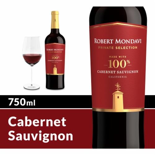 Robert Mondavi Private Selection 100% Cabernet Sauvignon Red Wine Perspective: front