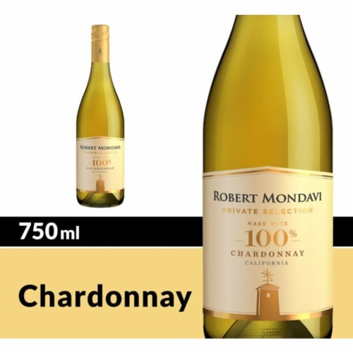 Robert Mondavi Private Selection Chardonnay Perspective: front