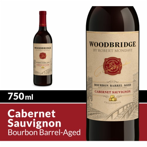 Woodbridge by Robert Mondavi Bourbon Barrel Aged Cabernet Sauvignon Red Wine Perspective: front