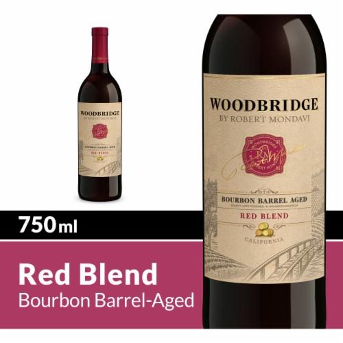 Woodbridge by Robert Mondavi Bourbon Barrel Aged Red Blend Wine Perspective: front