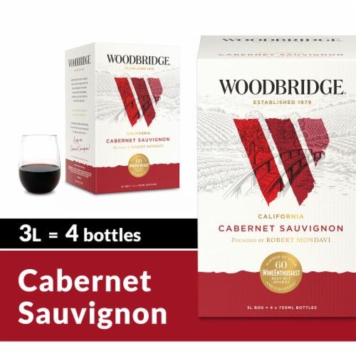 Woodbridge by Robert Mondavi Cabernet Box Wine Perspective: front