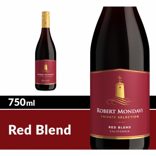 Robert Mondavi Private Selection Heritage Red Wine Perspective: front