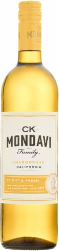 CK Mondavi and Family Chardonnay Perspective: front