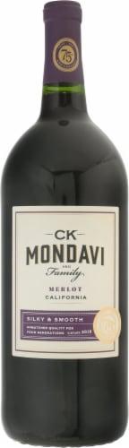 CK Mondavi Merlot Perspective: front