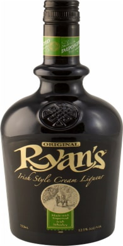Ryan's Original Irish Style Cream Liqueur Perspective: front