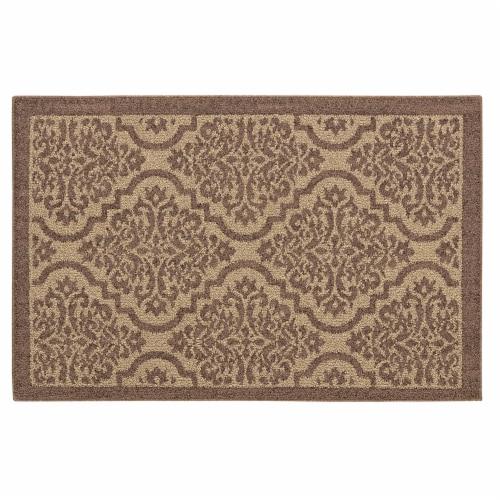 Mohawk Home Remnants Doormat - Brown Perspective: front