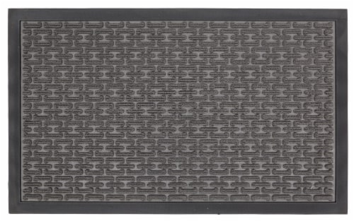 Mohawk Home Watermaster Chainlink Accent Rug - Gray Cream Perspective: front