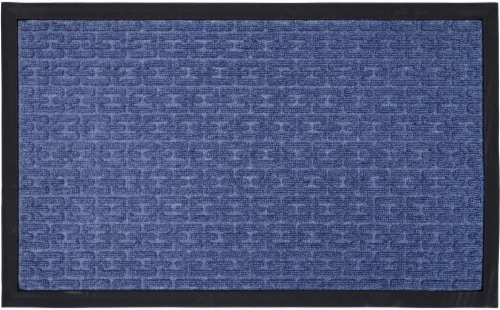 Mohawk Watermaster Chainlink Accent Rug - Blue Perspective: front