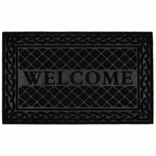 Mowhawk Home Braid Welcome Doormat Perspective: front