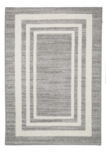 Mohawk Home Colorfield Area Rug - Linen Perspective: front