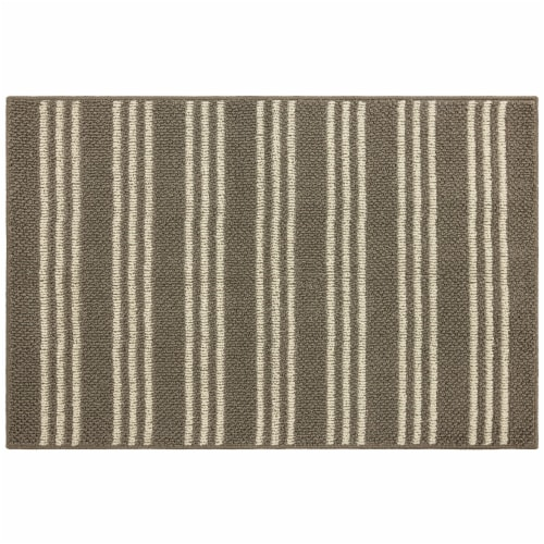 Mohawk Home Accent Rug - Cream/Cinder Perspective: front
