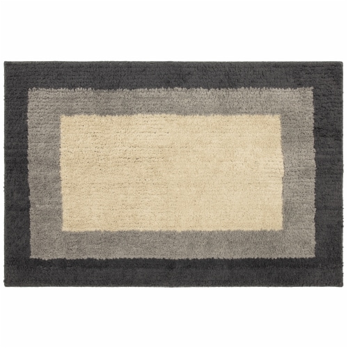 Mohawk Home Accent Rug - Beige / Gray / Charcoal - 30 x 45 Inch Perspective: front