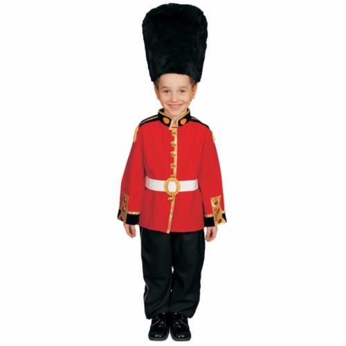 Dress Up America 206-M Deluxe Royal Guard Dress Up Set - Medium 8-10 Perspective: front