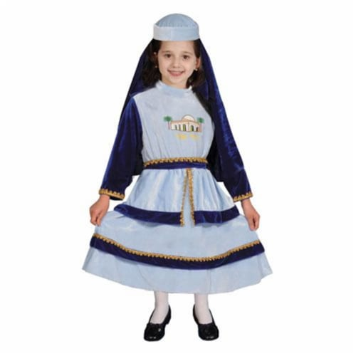 Dress Up America 370-T Jewish Mother Rachel Costume - Size Toddler T4 Perspective: front
