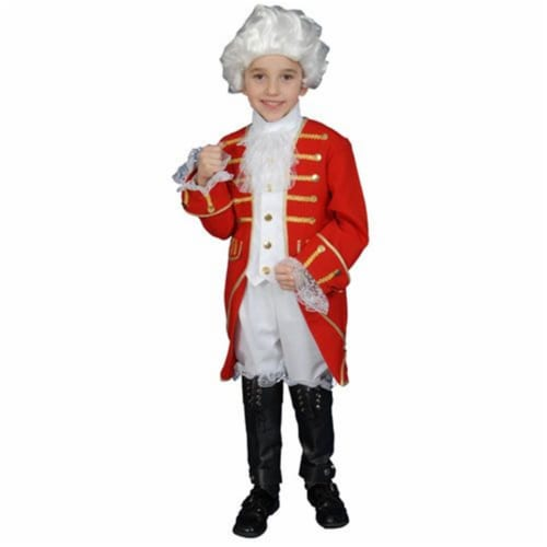 Dress Up America 377-M Victorian Boy Set Costume - Size Medium 8-10 Perspective: front