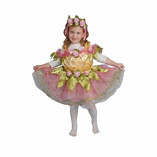 Dress Up America 419-T4 Ballerina - Toddler T4 Perspective: front