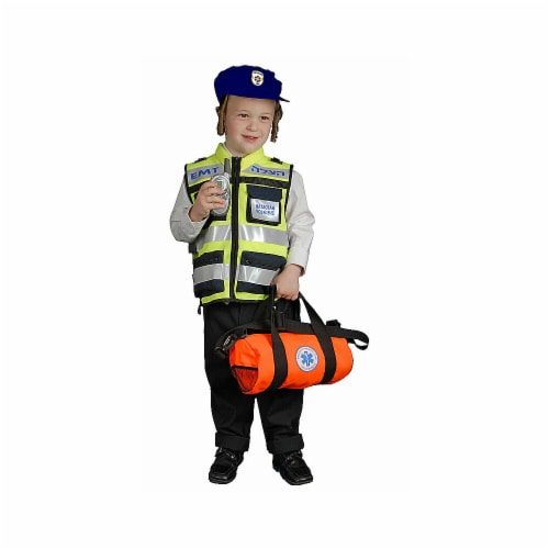 Dress Up America 426-S Hatzolah Vests- Kids - Small 4-6 Perspective: front