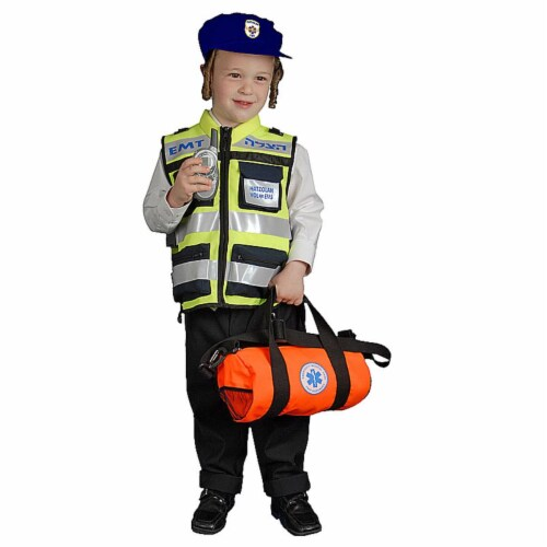 Dress Up America 426-L Hatzolah Vests- Kids - Large 12-14 Perspective: front