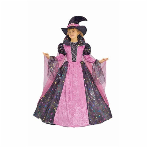 Dress Up America 435-M Deluxe Witch - Medium 8-10 Perspective: front