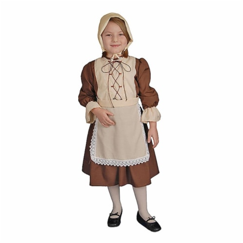 Dress Up America 445-T2 Colonial Girl - Toddler T2 Perspective: front