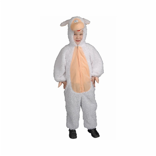 Dress Up America 447-T2 Plush Lamb - Toddler T2 Perspective: front