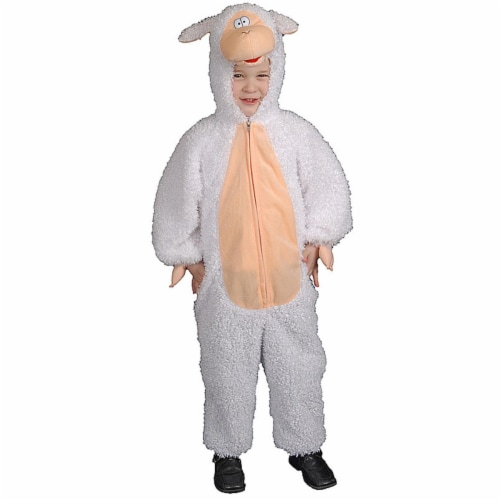 Dress Up America 447-L Plush Lamb - Large 12-14 Perspective: front