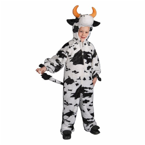 Dress Up America 448-T4 Plush Cow - Toddler T4 Perspective: front