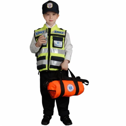 Dress Up America 481-S Child EMT - Small 4-6 Perspective: front