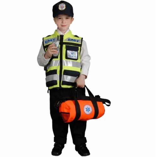 Dress Up America 481-M Child EMT - Medium 8-10 Perspective: front