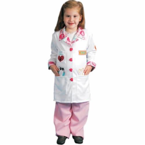 Dress Up America 485-M Girls Veterinarian Costume - Medium Perspective: front