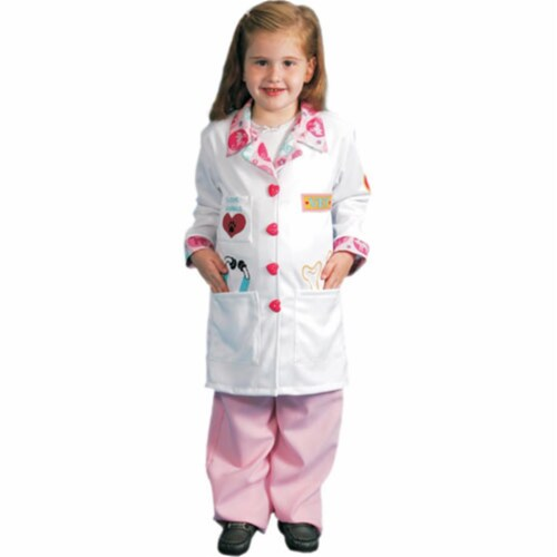 Dress Up America 485-L Girls Veterinarian Costume - Large Perspective: front