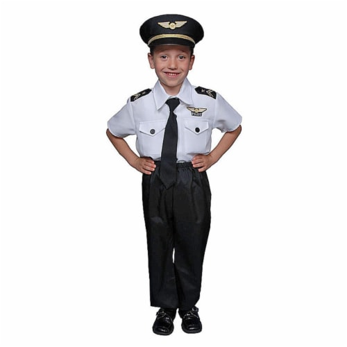 Dress Up America 325-T2 Childrens Pilot Set - Toddler T2 Perspective: front