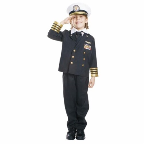 Dress Up America 496 - L Navy Admiral Perspective: front