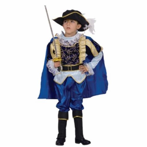 Dress Up America 498 - M 54'' x 34'' Full Color Polyester Nobel Knight Perspective: front