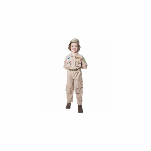 Dress Up America 513-M Construction Worker Child Costume - Size Medium Perspective: front