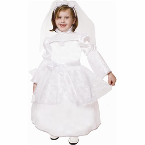 Dress Up America 537-T4 Majestic Bride - Size T4 Perspective: front