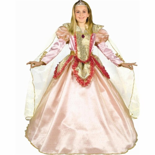 Dress Up America 538-L Princess of the Castle - Size Large Perspective: front