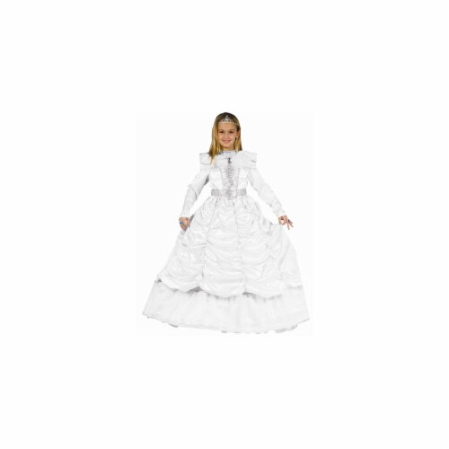 Dress Up America 540-S White Cinderella - Size Small Perspective: front
