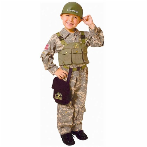Dress Up America 544-T2 Army Special Forces - Toddler T2 Perspective: front