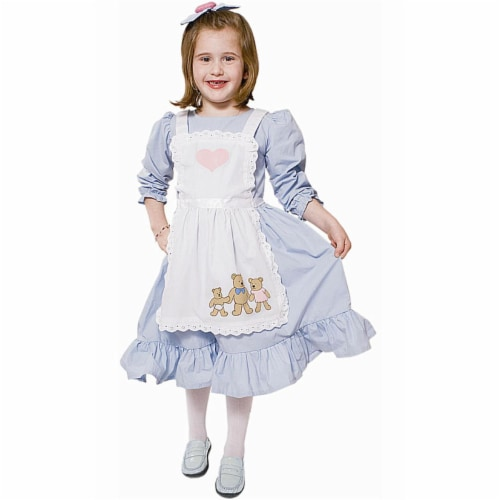 Dress Up America 547-T4 Goldilocks Fairytale - Size Toddler 4 Perspective: front