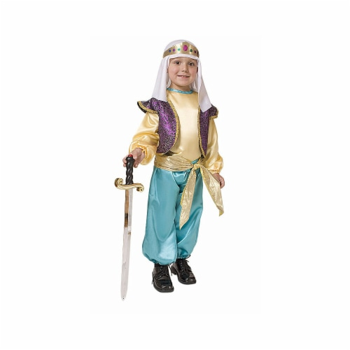 Dress Up America 551-T4 Arabian Sultan - Toddler T4 Perspective: front